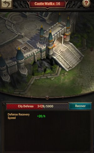 War and Order Castle Walls Defense