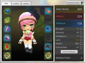 Maplestory 2 Gear Guide Basic Information