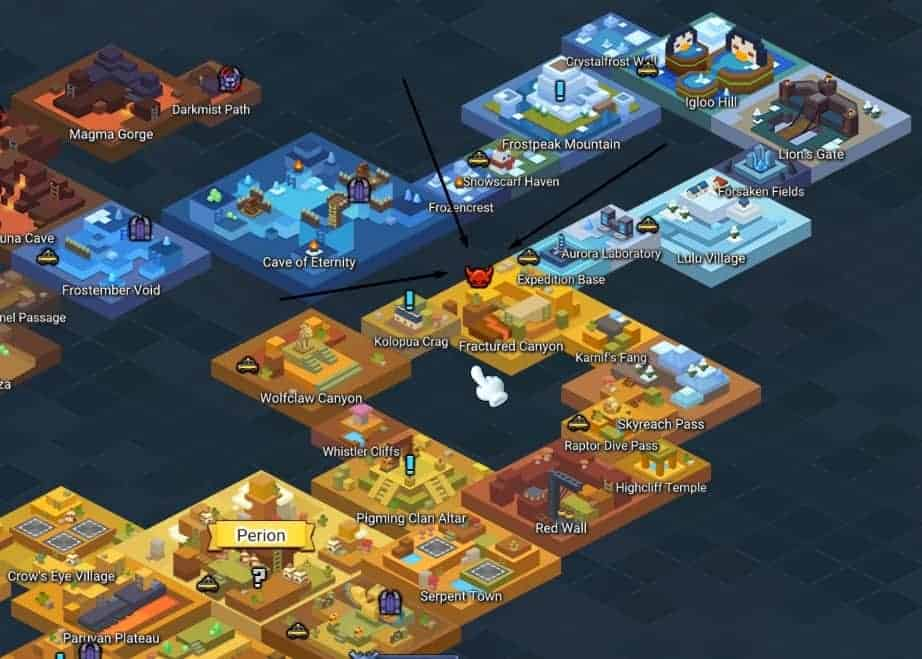Maplestory 2 Leveling Guide Detailed Strategies World Boss Map Icon