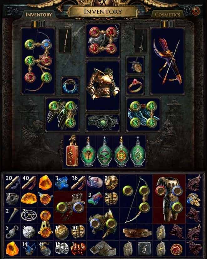 Path of Exile PoE Synthesis League Beginner's Leveling Guide Tips and Tricks Inventory Management