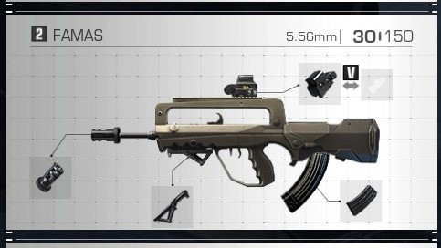 Ring of Elysium RoE Weapons and Attachments Guide famas best attachments