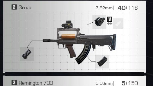 Ring of Elysium RoE Weapons and Attachments Guide groza best attachments