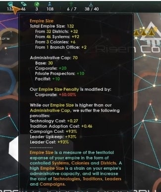 Stellaris 2.2 Megacorp Ultimate Guide Strategies Tips And Tricks empire size