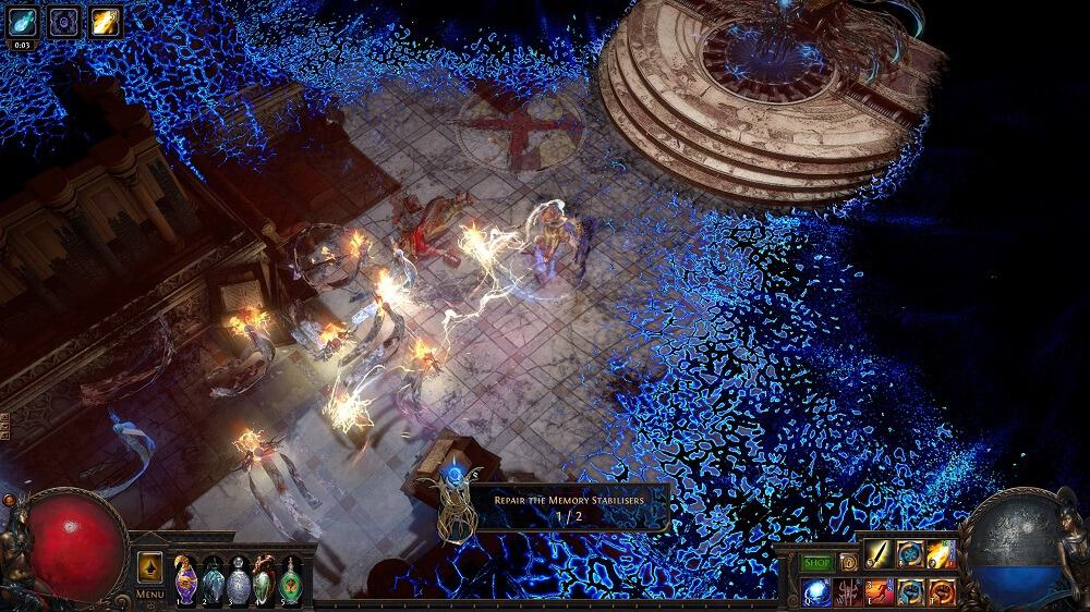 Path of Exile Synthesis Memory Nexus Detailed Guide