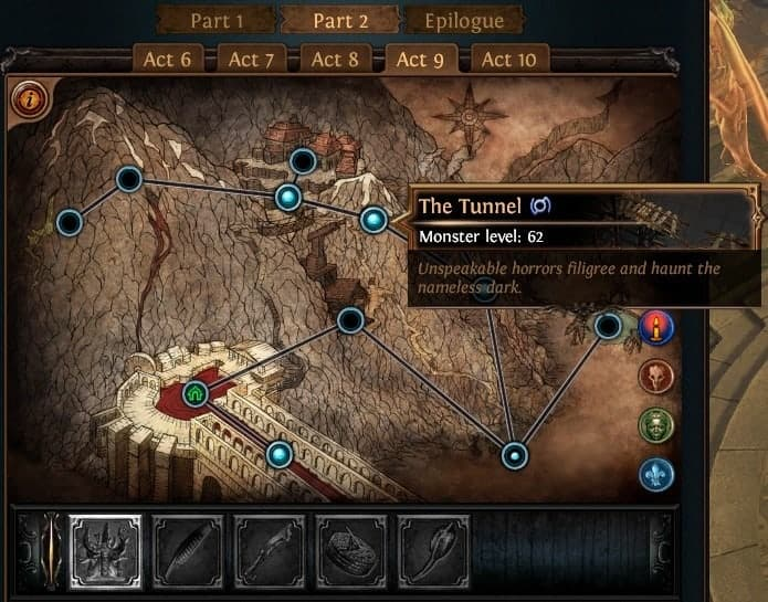 Path of Exile PoE Synthesis Ascendancy Trial Locations List Merciless Lab Tunnel