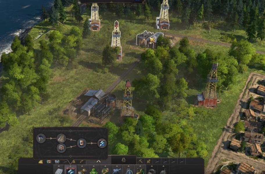 Anno 1800 How To Unlock Electricity, Oil Railways Train Guide Tips Tricks And Strategies Engineer Plants