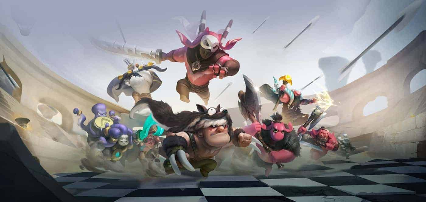 Auto Chess Mobile Phone Game Download Link Android iOS Release Classes Races Heroes Chess Pieces and Items