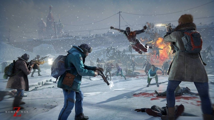 World War Z Zombies Guide All Enemy Types Mini Bosses And How To Deal With Them