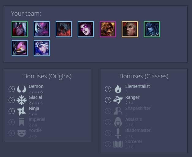 Best Teamfight Tactics Demon Build Guide Strongest TFT Team Composition Late Game