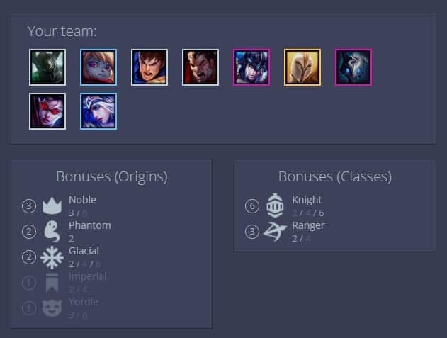 Best Teamfight Tactics 9.15 Knight Build Guide Strongest TFT Team Composition Late Game