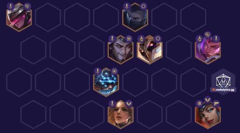 Teamfight Tactics Blademaster Team Comp TFT Build Positioning