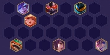 TFT Mech Team Comp Positioning