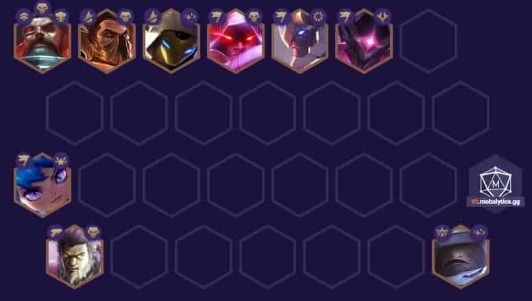 Teamfight Tactics Best Space Pirate Team Comp And Build Positioning Tips