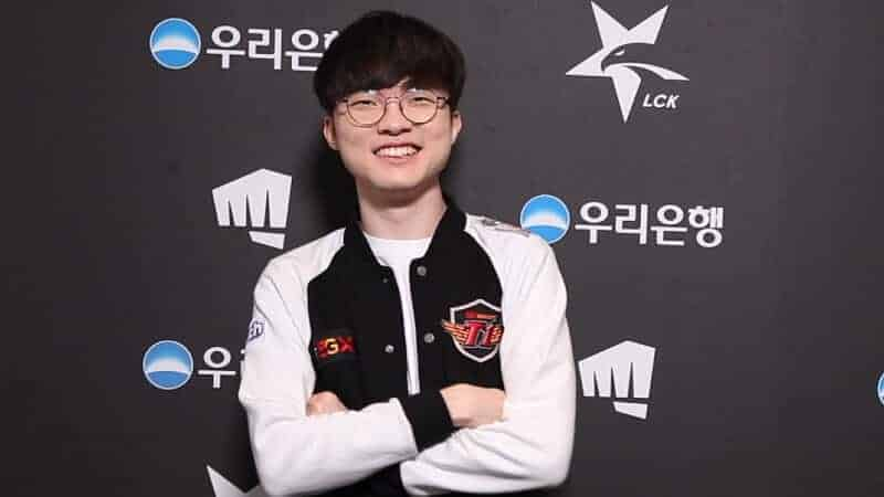 Faker and T1 donate money to charity that helps people combat the coronavirus