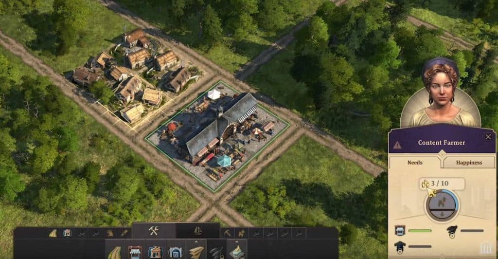 Anno 1800 Houses Population Needs Happiness Tier Advancement Guide Tips And Tricks Farmers