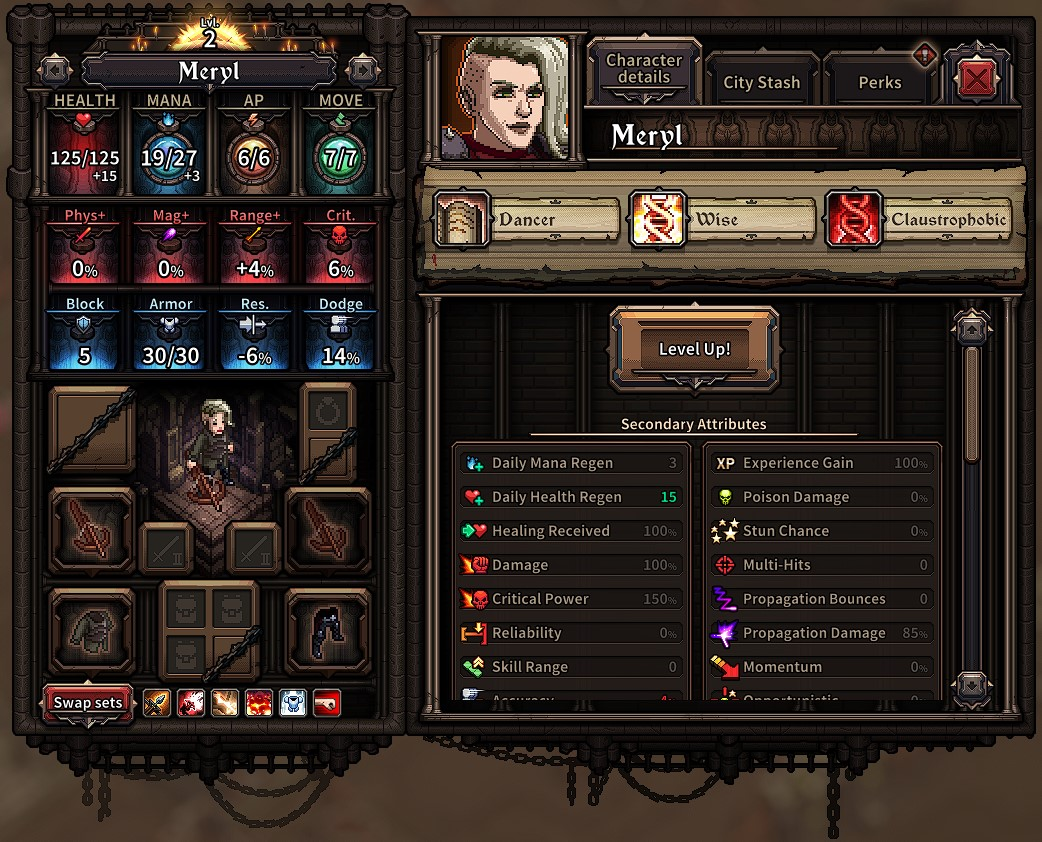 The Last Spell Hero Character Information